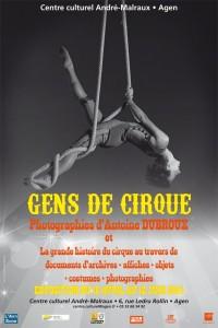 Affiche GENS DE CIRQUE FB